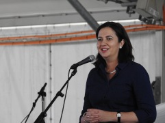 Premier Palaszczuk - Labour Day Brisbane 2015 © RealMediaOne