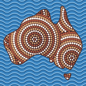 Australia - Dot painting