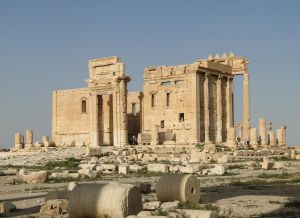 Temple of Bel in Palmyra, which was blown up by ISIL in August 2015